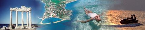 Side, die Perle der türkischen Riviera