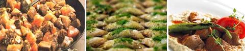 Türkische Auberginen-Fleisch-Pfanne
