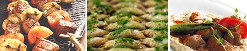 Türkische Fleischspießchen