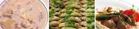 Türkische Grüne Linsensuppe mit Teigstreifen