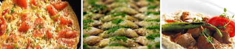 Türkische Rühreier mit Gemüse