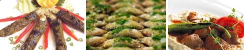Türkische Sardinen in Weinblätter