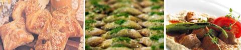 Türkischer Blätterteig mit Fleischfüllung