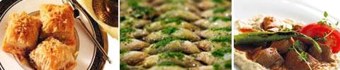 Türkischer Blätterteig mit Walnussfüllung