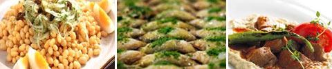 Türkischer Weißer Bohnen-Salat
