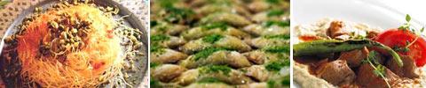 Türkisches Engelshaar-Dessert