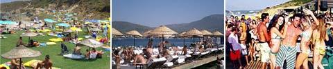 Sommer, Sonne und Strand Clubs