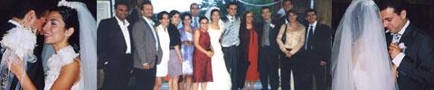 Hochzeitsband und Hochzeitstorte