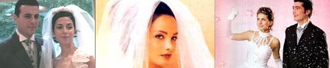 Handtasche der Braut