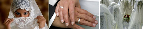 Islamische Heirat und Hochzeit