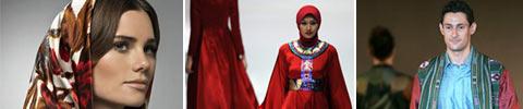 Islamische Kleidungen und Kleider