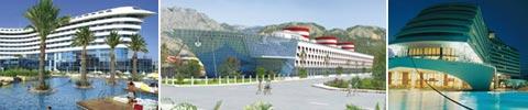Die Themenhotels der Türkei