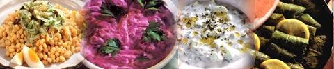 Türkische Salate und Vorspeisen